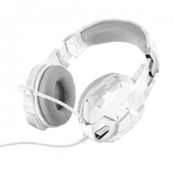 Trust GXT 322 Dynamic fehér mintás mikrofonos gamer fejhallgató (20864)