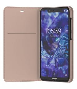 Nokia 5.1 Plus Flip tok krém  (MO-NO-TA65)