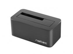 NATEC KANGAROO SATA DOKKOLÓ (FEKETE) - USB 3.0 (NSD-0954)