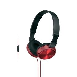 Sony MDR-ZX310APR piros-fekete mikrofonos fejhallgató (MDRZX310APR.CE7)