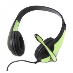 OMEGA Freestyle Zöld fejhallgató mikrofonnal (FH4008G)