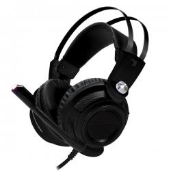 OMEGA Pro-Gaming Stereo Fekete mikrofonos Headset (OVH4050B)