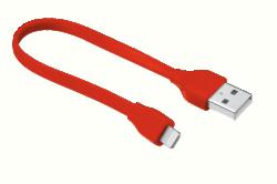 Trust 20133 20cm piros lightning hálózati kábel