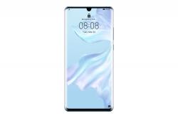 Huawei P30 Pro 256GB Dual Sim Jégkristály Kék Okostelefon (51093NFU) + Ajándék Huawei Y5 2019 Okostelefon