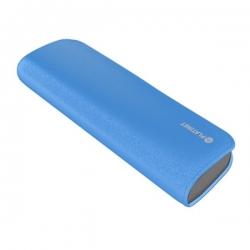 PLATINET hordozható töltő 7200mAh Kék bőr borítással + micro USB Kábel (PMPB72LBL)