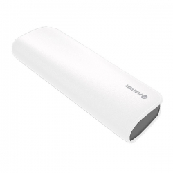 PLATINET hordozható töltő 7200mAh fehér bőr borítással + micro USB Kábel (PMPB72LW)