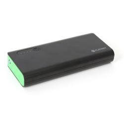 PLATINET hordozható töltő 8000mAh fekete-zöld + micro USB Kábel (PMPB80BG)