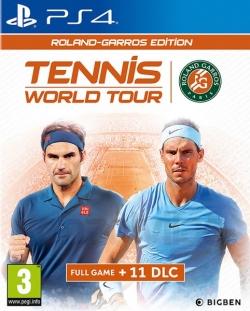 Tennis World Tour Roland Garros Edition PS4 játékszoftver (2805952)