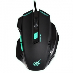 PORT GAMING MOUSE AROKH X-1 - 6 BUTTONS 2400 DPI - GN(901400)