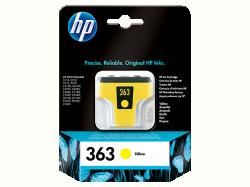 HP 363 sárga tintapatron (C8773EE)