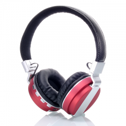 PRODA PR-SKA bluetooth headphone Red