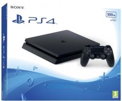 Playstation 4 (PS4) Slim 500 GB Fekete