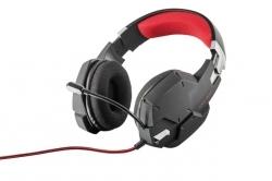 Trust GXT 322 Dynamic mikrofonos fekete gamer headset (20408)