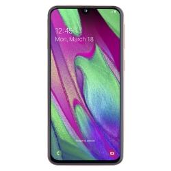 Samsung A405F Galaxy A40 Fehér 64GB Dual Okostelefon (SM-A405FZWDXEH)