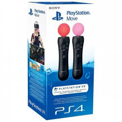 Playstation Move Controller Twin Pack (PS4)