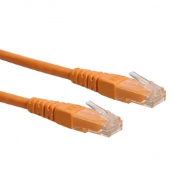 ROLINE CAT6 3m narancssárga Kábel UTP