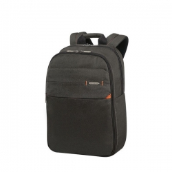 SAMSONITE NOTEBOOK HÁTIZSÁK 93062-6551, LAPTOP BACKPACK 15.6'' (CHARCOAL BLACK) -NETWORK 3