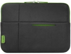 Samsonite Airglow Sleeves Laptop Sleeve 13.3'' Tok- Fekete/Zöld (U37-019-005)