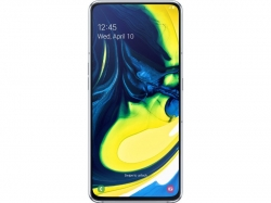 Samsung A805F GALAXY A80 Ezüst 128GB Dual Okostelefon