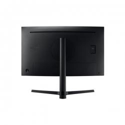 Samsung Monitor 27'' - C27H800FCU (VA, 16:9, 1920x1080, 200cd/m2, 5ms, Mega DCR, USB-C, DP, HDMI, fekete, ívelt)