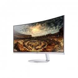 Samsung C34F791WQU 34'' ívelt kijelzős fehér LED  monitor
