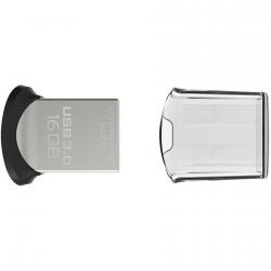 SANDISK CRUZER FIT ULTRA 16GB USB3.0 130MB/s Fekete-Ezüst Pendrive (124053)