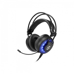 Sharkoon Fejhallgató - Skiller SGH2 (fekete; mikrofon; USB; nagy-párnás; 2.5m kábel; PS4 kompatibilis)