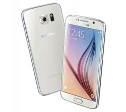 SAMSUNG Galaxy S6 Edge G925F 32GB Fehér Okostelefon (SM-G925FZWAXEH)