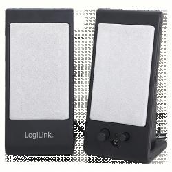 LogiLink USB2.0 aktív asztali hangszóró, fekete (SP0025)