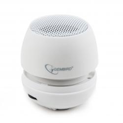 Gembird SPK-103-W fehér hordozható hangszóró
