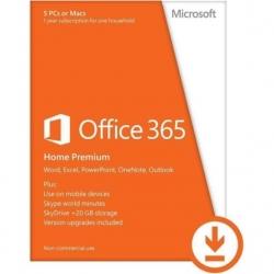 Microsoft Office 365 Otthoni ESD verzió  5 felhasználó / 1 év  (6GQ-00092)