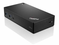 Lenovo Thinkpad USB 3.0 Ultra Dock fekete dokkoló (40A80045EU)