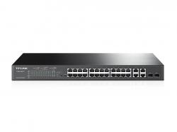 TP-LINK T1500-28PCT 24 portos 10/100Mbps + 4 portos gigabites smart PoE+ switch