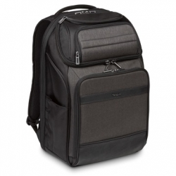 TARGUS NOTEBOOK HÁTIZSÁK TSB913EU, CITYSMART 12.5 13 13.3 14 15 15.6'' PROFESSIONAL LAPTOP BACKPACK - BLACK/GREY