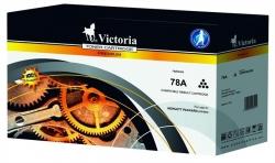 VICTORIA 78A CE278A LaserJet P1566, P1606  fekete toner 2,1K utángyátott (TOHPCE278V)