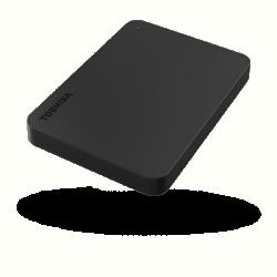 Toshiba Külső HDD 2.5'' - 1TB Canvio Basics Fekete (USB3.0; ~5Gbps; NTFS/HFS+; matt)