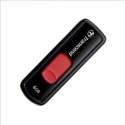 Transcend  JetFlash 500 4GB USB 2.0 Fekete-Piros Pendrive (TS4GJF500)