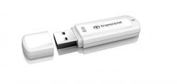 Transcend JetFlash 370 8GB USB2.0 Fehér Pendrive (TS8GJF370)