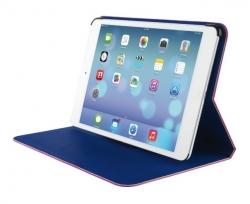Trust Aeroo Ultrathin Folio Stand for iPad Air Rózsaszín-Kék Tablet Tok (19840)