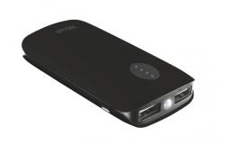 Trust Leon 5200 Portable Charger Fekete PowerBank (20381)
