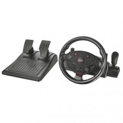 Trust Kormány - GXT 288 Taivo (kormány+pedálok+váltó; PC / PS3 kompatibilis; fekete)