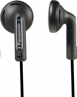 Panasonic RP-HV095E-K fekete fülhallgató
