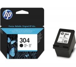 HP 304 Fekete tintapatron (N9K06AE)