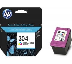 HP 304 Háromszínű tintapatron (N9K05AE)
