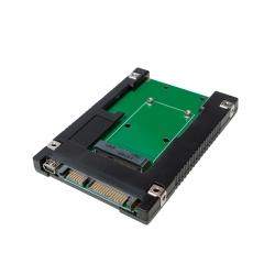 LOGILINK MSATA SSD/ 2,5'' SATA ADAPTER - (FEKETE UA0223)