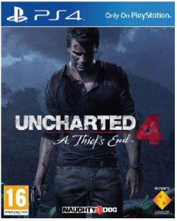 Uncharted 4: A Thief´s End szoftver Standard Plus változat PS4