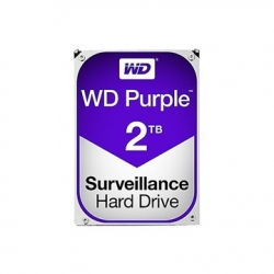 WESTERN DIGITAL 3.5'' HDD SATA-III 2TB 5400RPM 64MB CACHE, CAVIAR PURPLE
