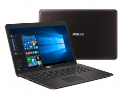 Asus X756UV-TY132D  Barna Notebook (90NB0C71-M01410)
