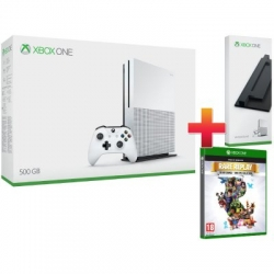 Xbox One S 500GB + RARE REPLAY + ÁLLVÁNY (ZQ9-00012_RR)
