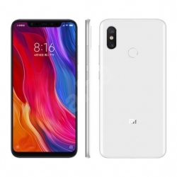 Xiaomi Mi 8 128GB (Fehér) okostelefon - (XMI8_W128DS)